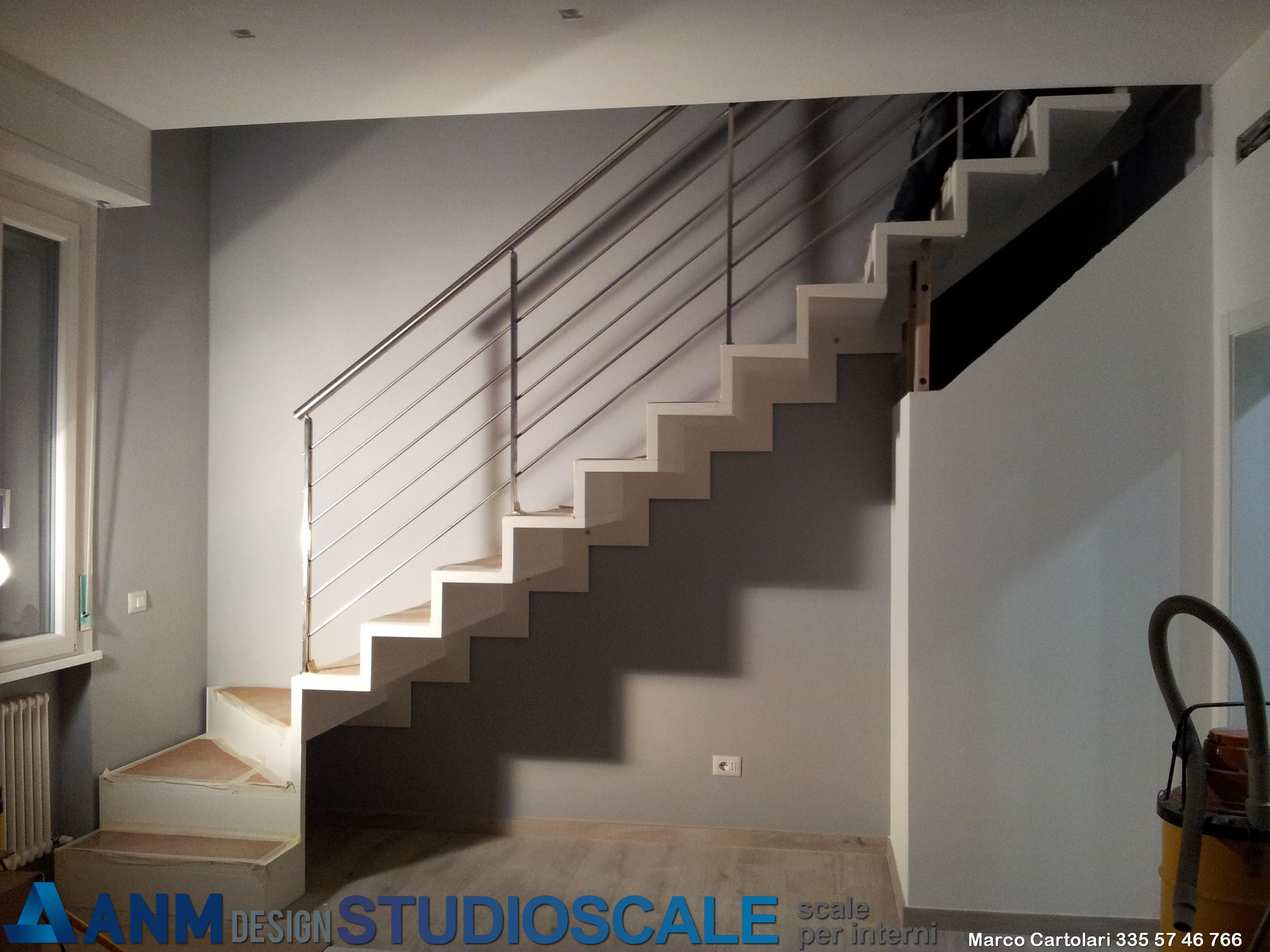 Scale per interni STUDIOSCALE progettazione e produzione  Scale a sbalzo  S...
