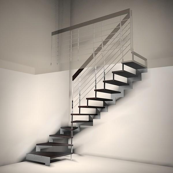 Studioscale anm design progettazione e produzione scale - Progetto scale interne ...