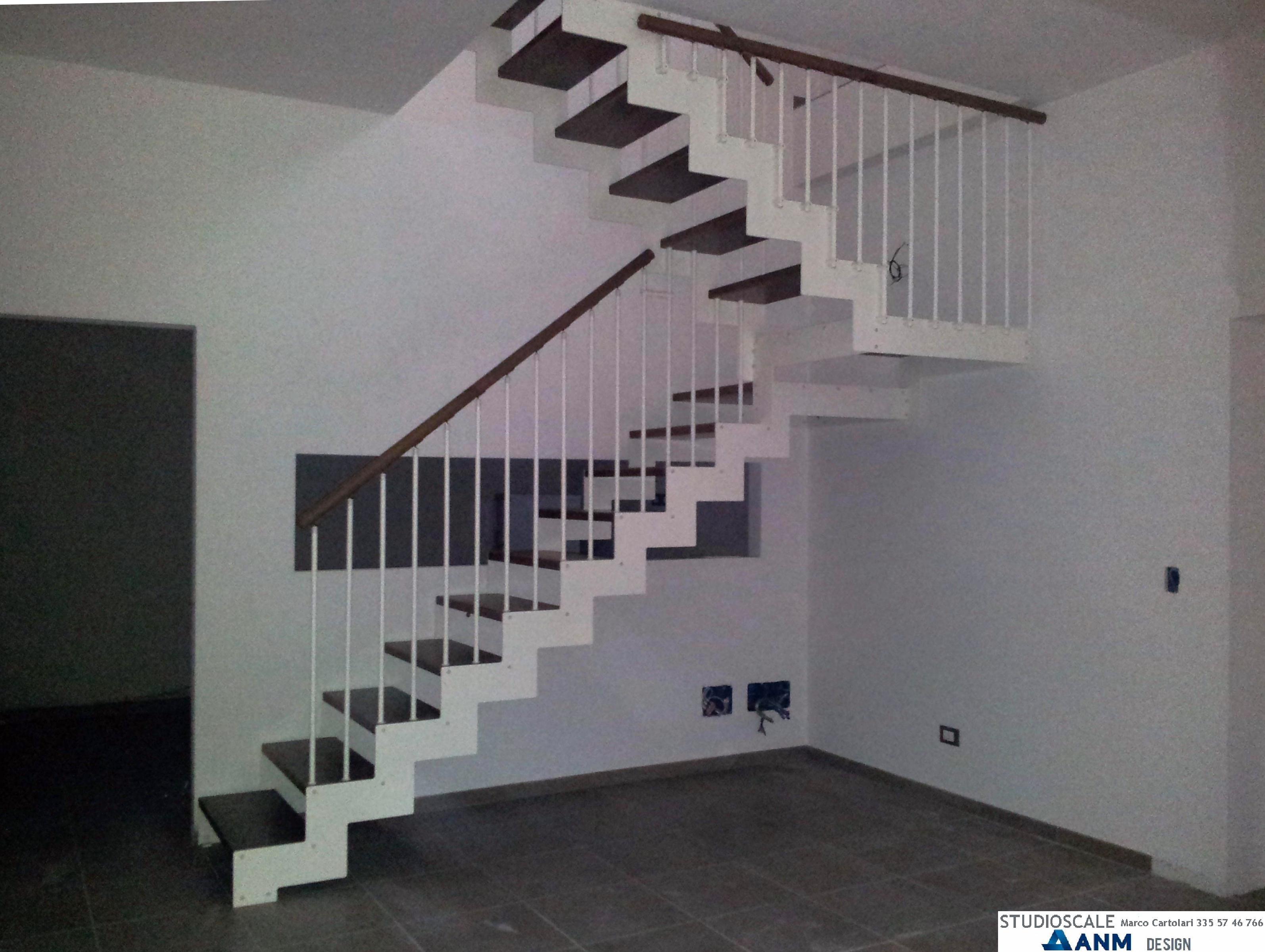 Studioscale anm design progettazione e produzione scale - Ringhiera scala esterna ...