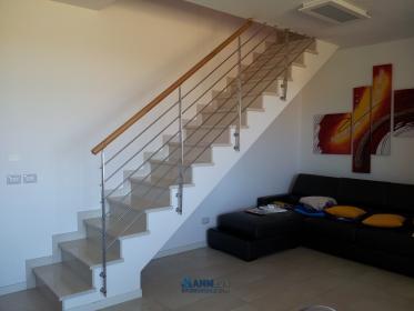 Ringhiere per scale in muratura with scala in muratura - Scale per esterno in muratura ...