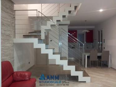 Studioscale anm design progettazione e produzione scale - Scale a rampa per interni ...